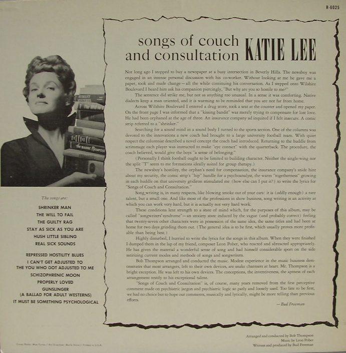 Katie's discography katie lee.