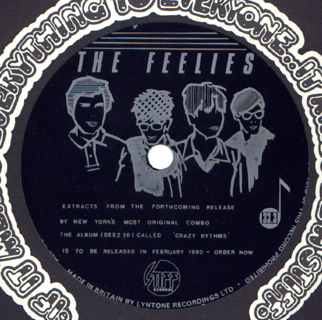 Feelies Extracts From The Forthcoming Release By New Yorks Most Original Combo