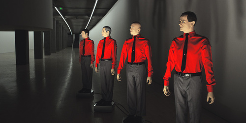 Kraftwerk. Image courtesy of Sprueth Magers, Berlin and London. © Kraftwerk