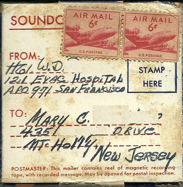 Audio Letters From An Army Doctor in Korea 1954 Exploring My