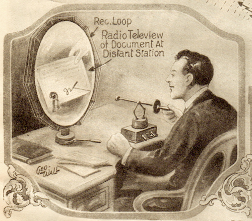 The Internet as Envisioned in 1925